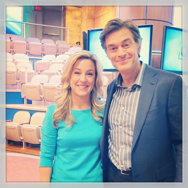 Jenn and Dr. Oz