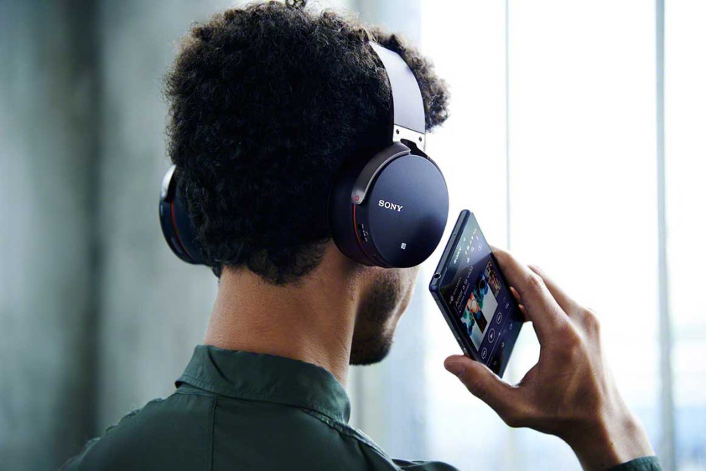 Sony's Extra Bass Bluetooth Headphones