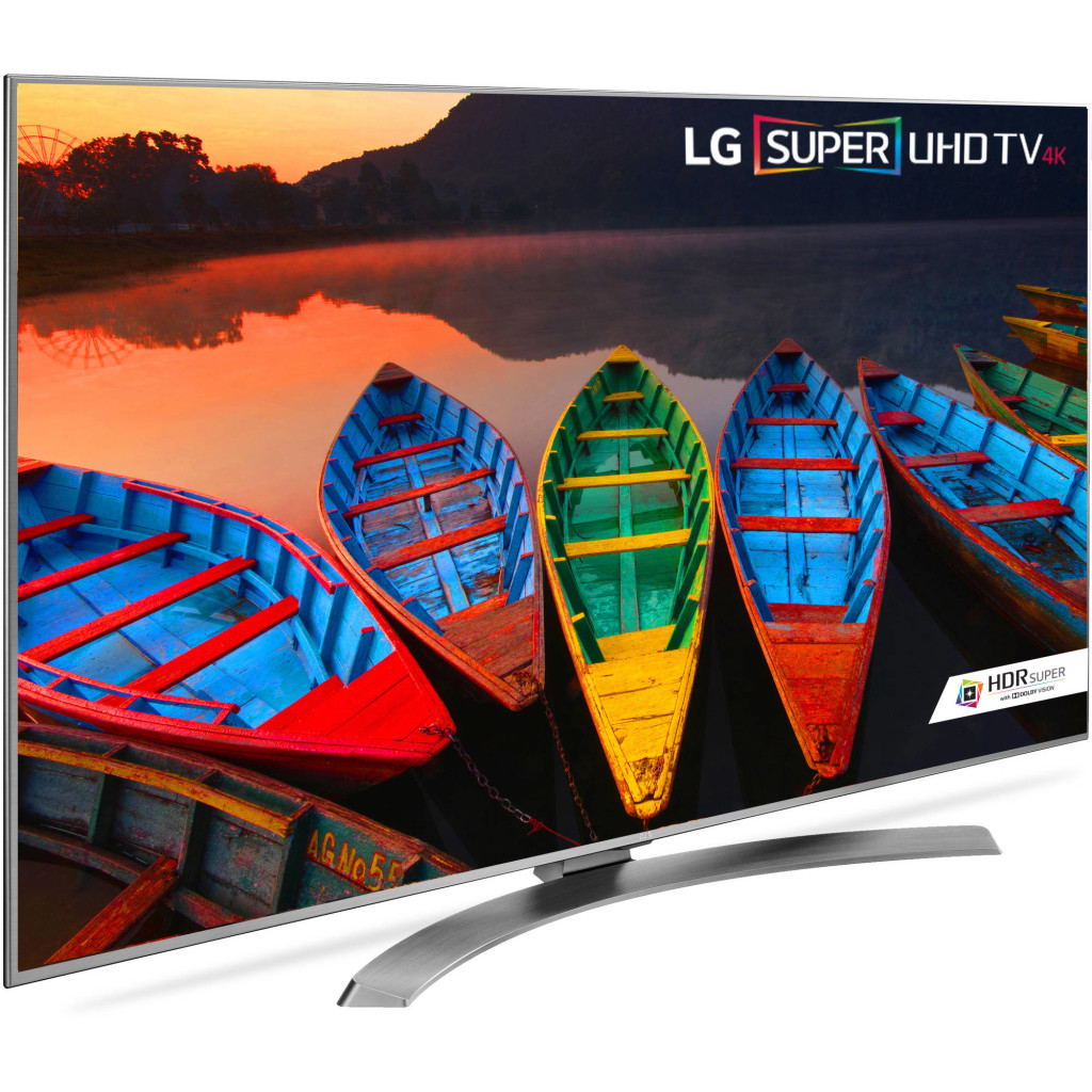 LG's 55-inch 4K Ultra HD Smart TV (55UH7700)